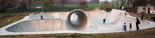 Elbo Skatepark Overview