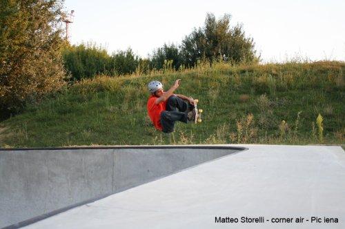 Elbo Skatepark - Matteo Storelli Corner Air
