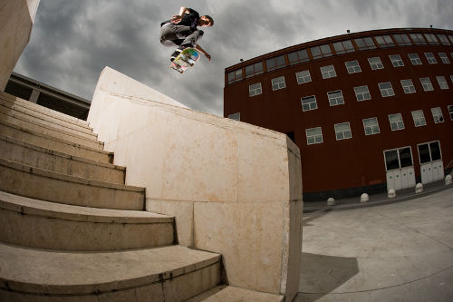 Matteo Giarrizzo - Fs ollie over - ph. Olaf