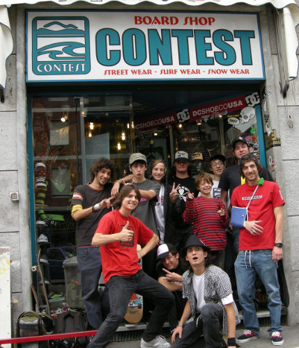 Contest Boardshop team