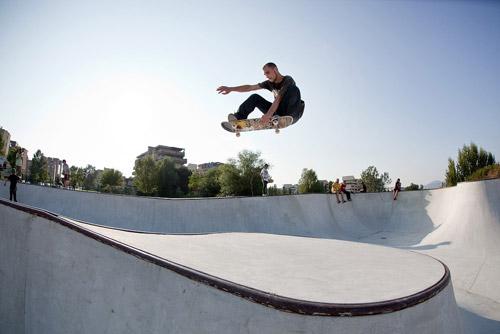 Burn Skate Battle - Vans - Marco Giordano Indy Transfert