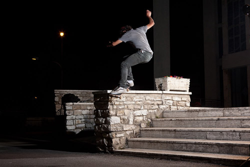 Burn Skate Battle - Vans -Simone Verona in Fs Smith