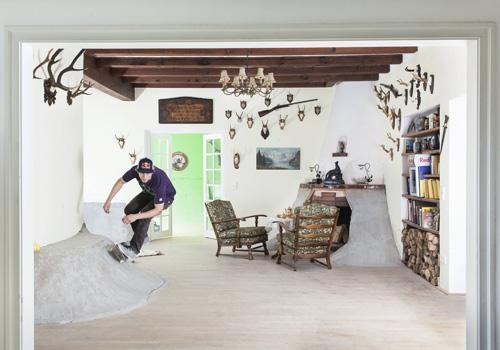 Philip Shuster Skate Villa