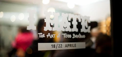 I Hate - Todd Bratrud a Milano