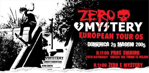 Zero & Mystery Tour Report
