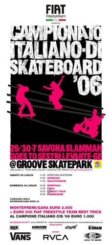 Campionato Italiano di Skateboard 2006