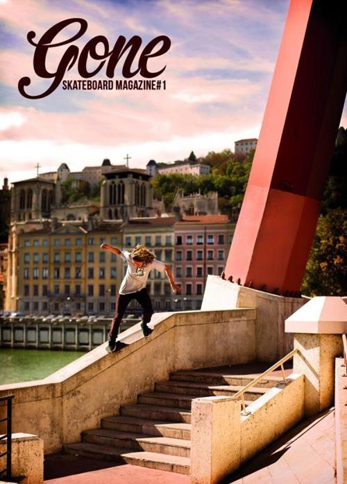 Gone Skateboard Magazine #1 - Lyon