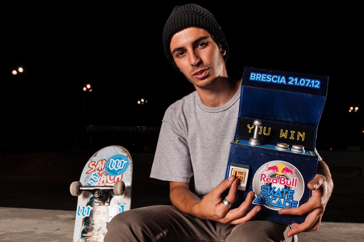 RedBull Skate Arcade 2012 Winner: GianMarco Pala